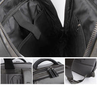 Dickfist Mens Square Backpack Laptop College School Bag Casual Rucksack 702 - chanchanbag