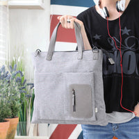 Dickfist Mens Tote Bag Messenger Bag Cross Boby School Bag Shoulder Bag 9096 - chanchanbag