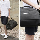TOPPU Mens Gym Bag Tote Duffle Bag Shoulder Bag Travel Messenger Bag 783 - chanchanbag