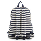 Dickfist Mens Stripe Backpack Womens College School Bag Casual Daypack 9106 - chanchanbag
