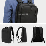 Toppu Mens College Bag with USB Port 15.6'' Laptop Backpack Travel Bag 797 - chanchanbag