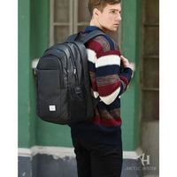 Arctic Hunter Mens Backpack Rucksack Casual Laptop College School Book Bag 006 - chanchanbag