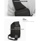 Toppu Mens Sling Bag Casual Shoulder Backpack Crossbody Chest Bag 894 - chanchanbag