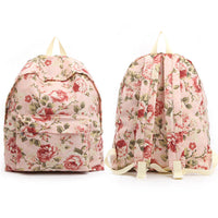 Colatree Womens Floral Backpack Flower Bag College School Bag Daypack 301 - chanchanbag
