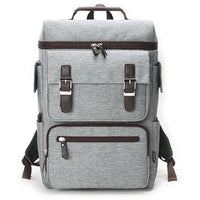 SLICK Mens Square Laptop Backpack College School Bag Casual Rucksack 322 - chanchanbag