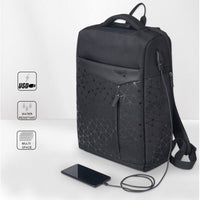 Aoking Stylish College Backpack with USB Port 15.6'' Laptop Bag School Bag 77282 - chanchanbag