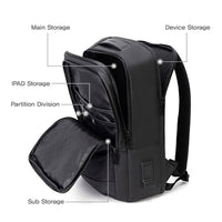 Arctic Hunter Mens College Bag with USB Port 15.6'' Laptop Backpack Travel Bag 0328 - chanchanbag