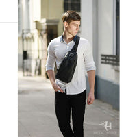 Arctic Hunter Mens Sling Bag Crossbody Waist Bag Shoulder Backpack 006 - chanchanbag