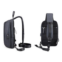 Arctic Hunter Mens Sling Bag with USB Port Shoulder Backpack Crossbody Bag 088 - chanchanbag