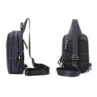 Arctic Hunter Mens Sling Bag with USB Port Crossbody Shoulder Backpack 092 - chanchanbag
