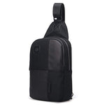 Aoking Mens Sling Bag Anti Theft Crossbody Laptop Shoulder Backpack 54095