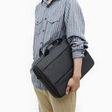 Toppu Mens Business Bag 15.6'' Laptop Bag Travel Messenger Tote Bag 9374