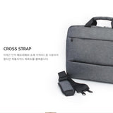Toppu Mens Business Bag 15.6'' Laptop Bag Travel Messenger Tote Bag 9374 - chanchanbag