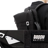 Toppu Mens College Bag with USB Port 15.6'' Laptop Travel Backpack 3 Way Bag 976 - chanchanbag