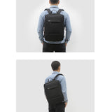 Toppu Mens Business Bag 15.6'' Laptop Backapck College Travel Bag 987 - chanchanbag