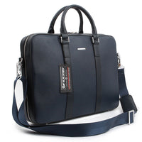 Genova Mens Briefcase Laptop Business Bag Shoulder Bag Tote Bag Attache 6167 - chanchanbag