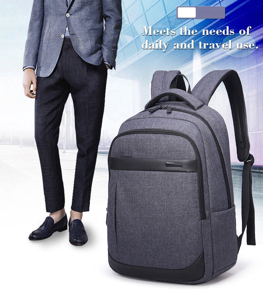 Aoking Mens College School Backpack Travel Laptop Business Bag Rucksack 77170 - chanchanbag