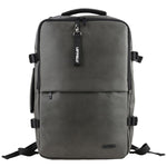 LEFTFIELD 3 Way Bag Mens Faux Leather Backpack Laptop College School Bag 693 - chanchanbag