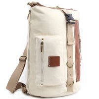 Adrena 3 Way Bag Mens Canvas Backpack School College Shoulder Bag Rucksack 304 - chanchanbag