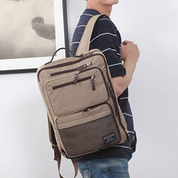 SLICK 3 Way Bag Mens Laptop Backpack College School Bag Shoulder Bag 338 - chanchanbag