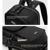 TOPPU Mens Business Backpack Travel Laptop College School Bag Rucksack 729 - chanchanbag