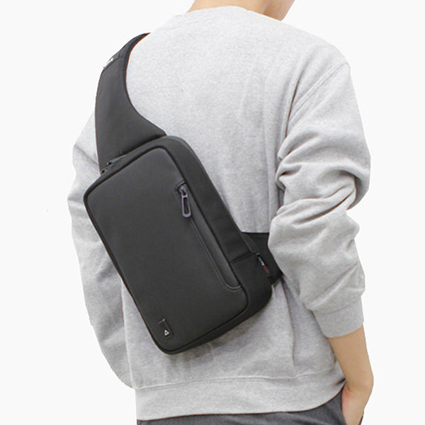 Toppu Mens Sling Bag Casual Shoulder Backpack Crossbody Chest Bag 894