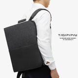 Toppu Mens Business Bag 15.6'' Laptop Backapck College School Bag 815