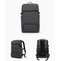 Toppu Mens College Bag with USB Port 15.6'' Laptop Backpack Waterproof School Bag 822 - chanchanbag