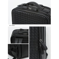 Toppu Mens Square Business Bag 15.6'' Laptop Backapck College School Travel Bag 829 - chanchanbag