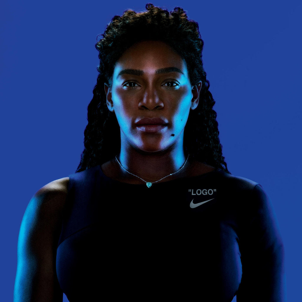 Fortune Favors the Bold: Virgil Abloh Designs Serena Williams' Latest Statement in New York City
