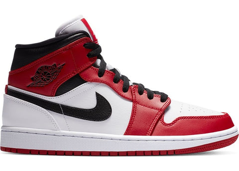 "Air Jordan 1 Mid ""Chicago White Heel"" (2020)"