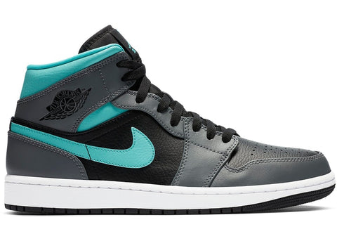 "Air Jordan 1 Mid ""Grey Aqua"""