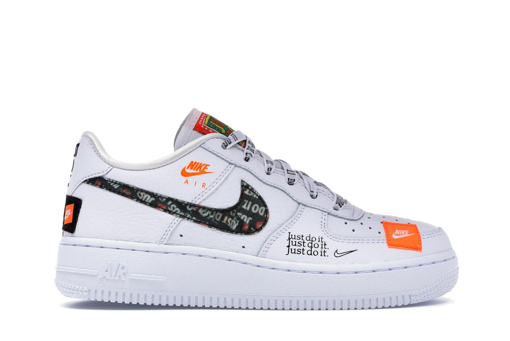 Nike Air Force 1 Low Just Do It Pack White (GS) – KickBox
