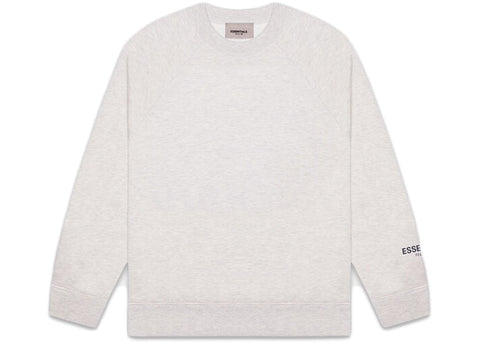 FEAR OF GOD ESSENTIALS Core Pullover Crewneck Heather Grey