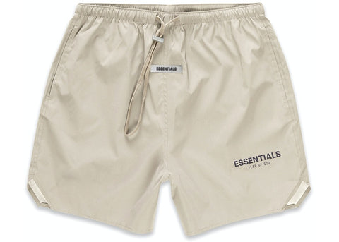 FEAR OF GOD ESSENTIALS Volley Shorts - Olive/Khaki