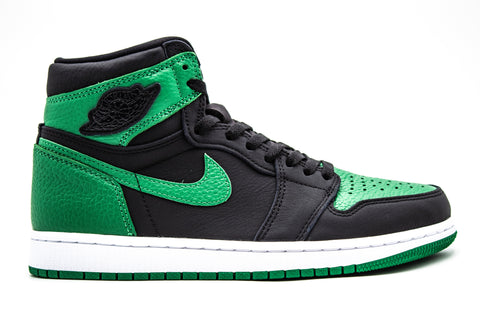 "Air Jordan 1 Retro High ""Pine Green Black"" (Pre-owned)"