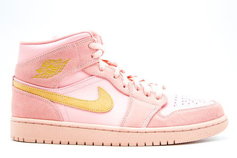 "Air Jordan 1 Mid ""Coral Gold"" (Pre-owned)"