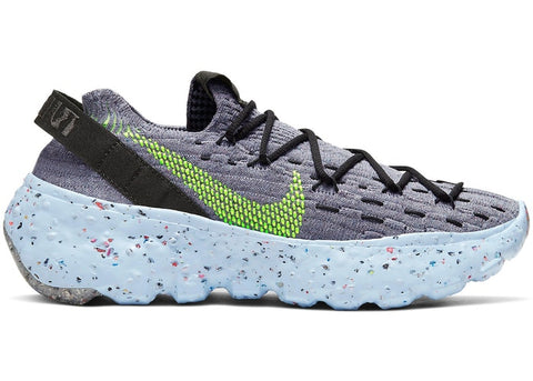 Nike WMNS Space Hippie 04 - Dark Grey Volt