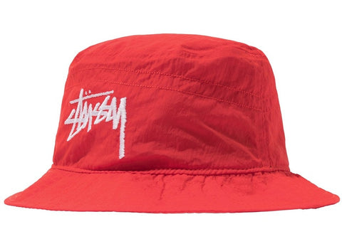 "Stussy x Nike Bucket Hat ""Hababero Red"""