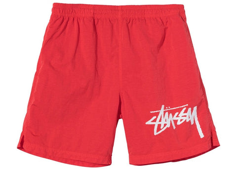 "Stussy x Nike Water Short ""Habanero Red"""