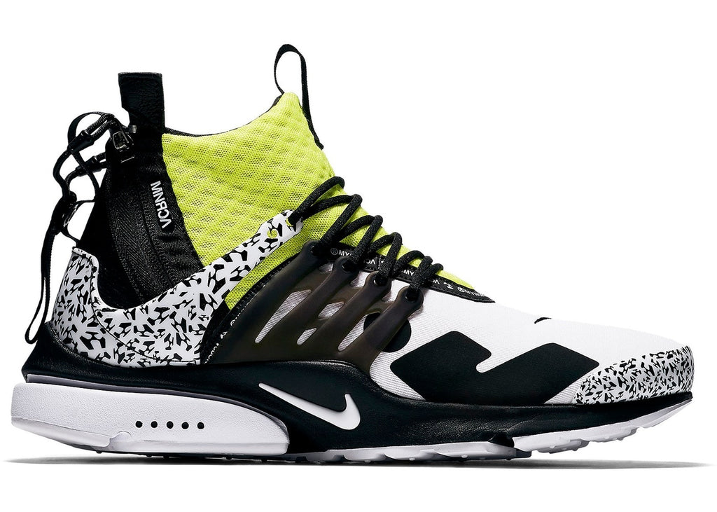 "the best attitude e20f4 7cb2e ACRONYM x Nike Air Presto Mid ""Dynamic Yellow"""