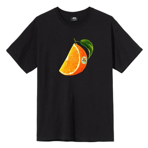 Stussy Orange Slice Tee - Black