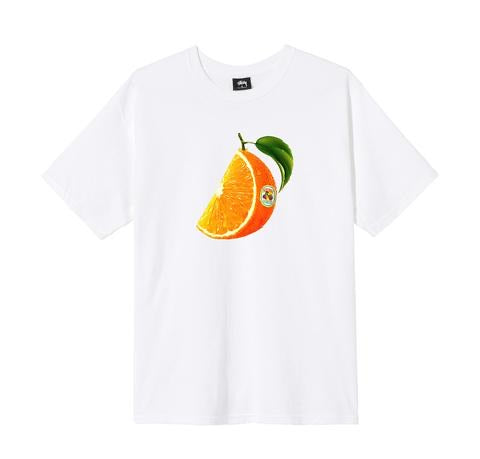 Stussy Orange Slice Tee - White