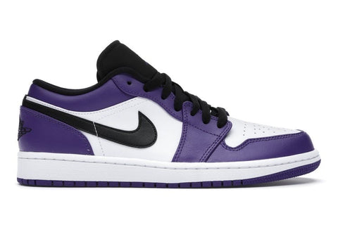 "Air Jordan 1 Low ""Court Purple White"""