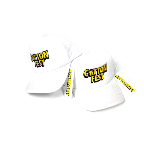 "Cotton Fest Cap ""White"""