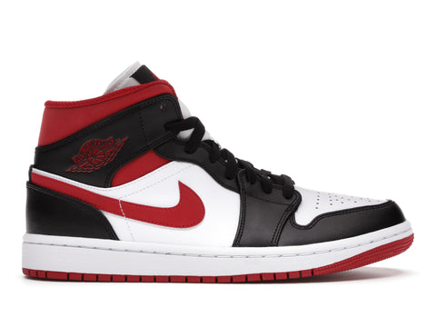 "Air Jordan 1 Mid ""Gym Red Black White"""