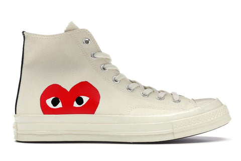 Converse Chuck Taylor All-Star 70s Hi Comme des Garcons PLAY - White