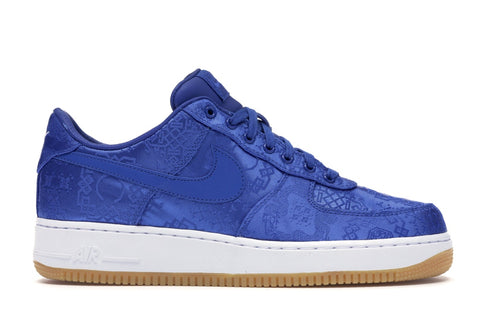 CLOT x Nike Air Force 1 - 'Blue Silk'