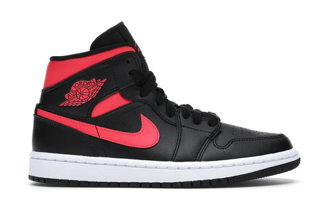 "Air Jordan 1 Mid ""Black Siren Red"" (W)"