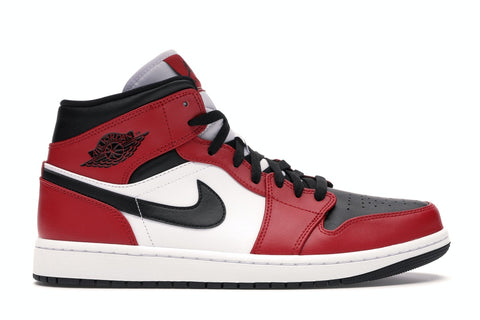"Air Jordan 1 Mid ""Chicago Black Toe"" (2020)"